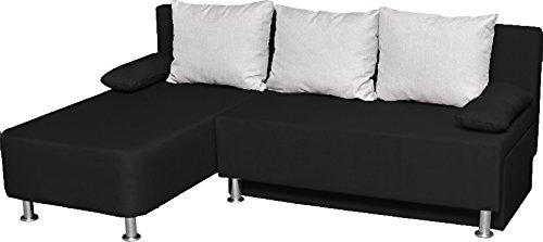 VCM Ecksofa Bettsofa Schlafsofa Sofa Couch mit Schlaffunktion Gästebett