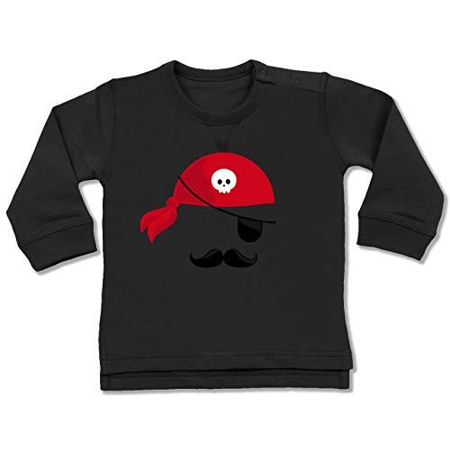 Kostüm 18 Pirat 24 Monate - Shirtracer Karneval und Fasching Baby - Pirat Kostüm - 18-24 Monate - Schwarz - BZ31 - Baby Pullover