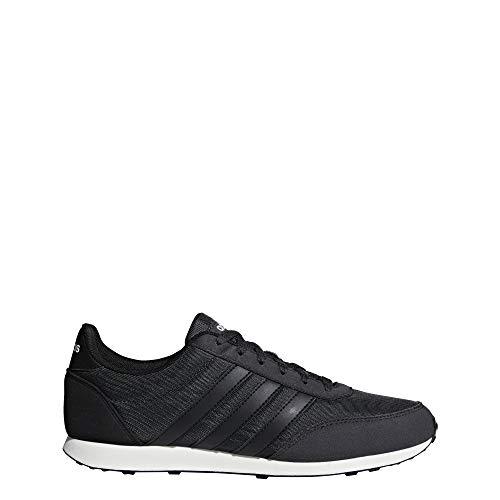 Adidas v racer 2.0, scarpe sportive uomo, nero (black b75799), 43 1/3 eu