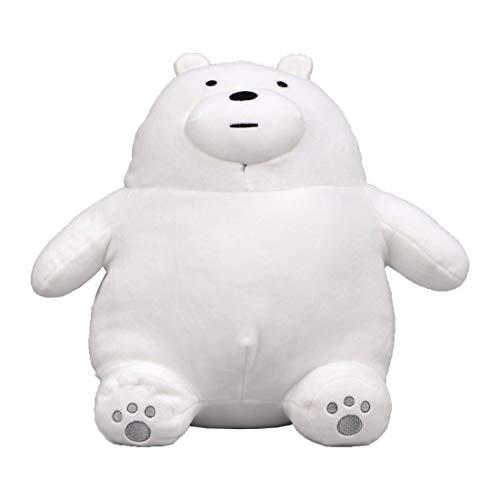 We Bare Bears Sitting Ice Bear Plush 30 cm