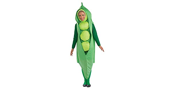 Peas and Carrots Costume Adult Funny Couples Halloween Fancy Dress