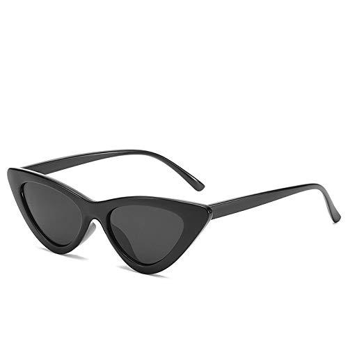 MOJINGYAN Sonnenbrillen,2019 Black Mode Niedlich Damen Cat Eye Sonnenbrille Frauen Vintage Marke Klein Sonnenbrille Frauen