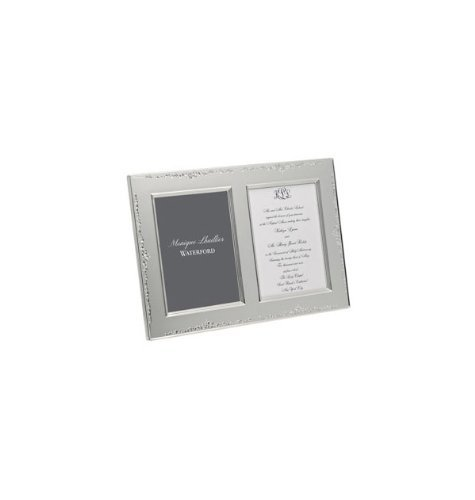 Waterford Monique Lhuillier Modern Love Double Invitation Frame by Waterford