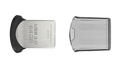 Memoria flash USB 3.0 SanDisk Ultra Fit de 64 GB  velocidad de lectura de hasta 150 MB/s