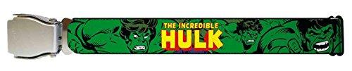 Hulk Marvel Comics Superhero Retro Comic Airline Seatbelt Belt