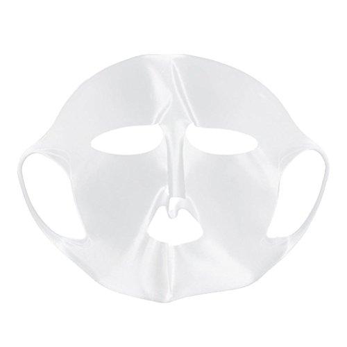 WINOMO Maschera Viso Idratante Maschera Copertina in Silicone Riutilizzabili