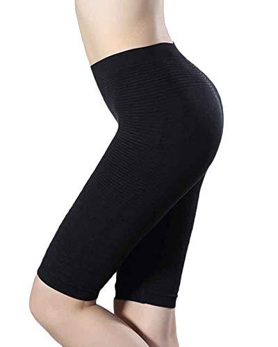 Intimo Modellante Guaina Contenitiva Shapewear da Donna Vita Alta Dimagrante Pancera Mutanda Shaping Push Up Butt Lifter Pantaloncini Body Shaper Noir M