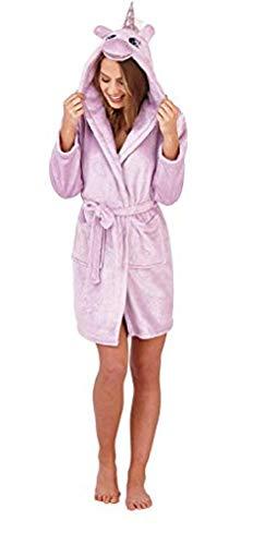 GladRags - Pijama Pieza - Mujer Morado Vestido Unicornio