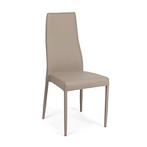 Cuisine & Maison ARREDinITALY Lot 4 chaises Pieds et Assise