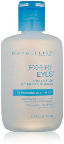 Maybelline Expert Eyes 100% Oil Free Eye Make-Up Remover, 68ml