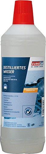 Eurolub DESTILLIERTES WASSER, 1 Liter