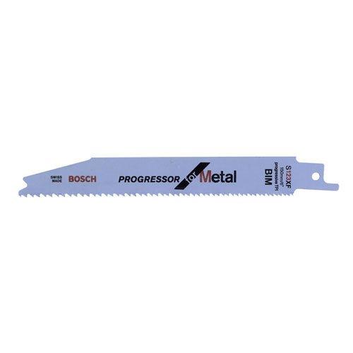 BOSCH 2 608 654 402  - HOJA DE SIERRA SABLE S 123 XF - PROGRESSOR FOR METAL (PACK DE 5)