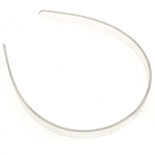 Corsage Creations - Plastic Headband - Clear (12cm Diameter, 12pcs per pk)