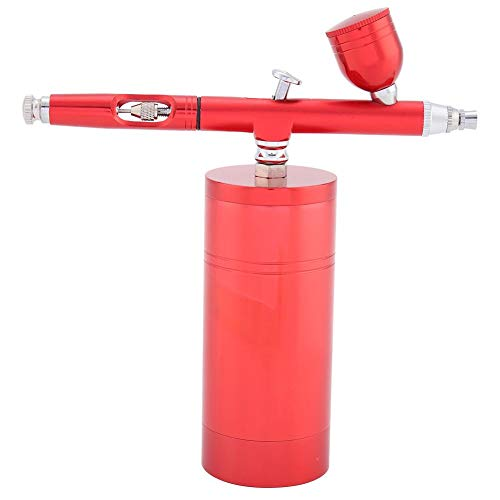 Spray Stift 0,3mm 7CC Kapazität Mini Air Compressor Airbrush Kit Spray Air Brush Gun für Kunst Modell Malerei (Airbrush-modell-malerei Kit)