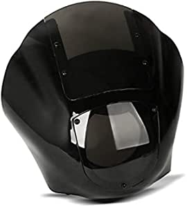 Lampenmaske Q1 Für Harley Softail Street Bob Low Rider Dunkel Auto