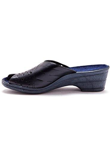 Pantofole In Navy Moglie Charmance Traforata Pelle SdAwSqT