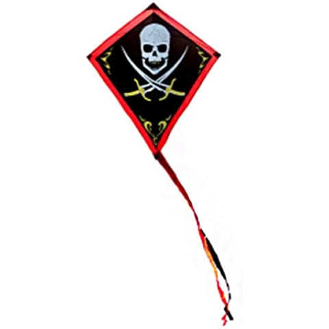 Pirata KITE. Jolly Roger Bambini Single Line Kite