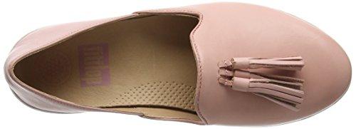 FitFlop Tassel Superskate D'Orsay Loafers, Mocassins Femme Pink (Dusky Pink)