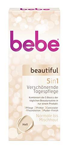bebe beautiful Tagespflege Hell 5in1 Tube 50 ml
