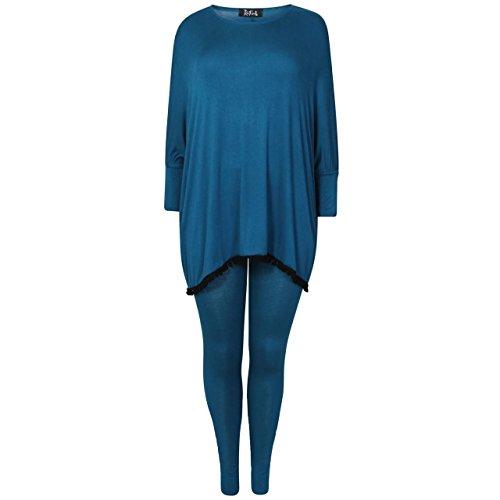 Gugu Fashion - Survêtement - Femme bleu sarcelle