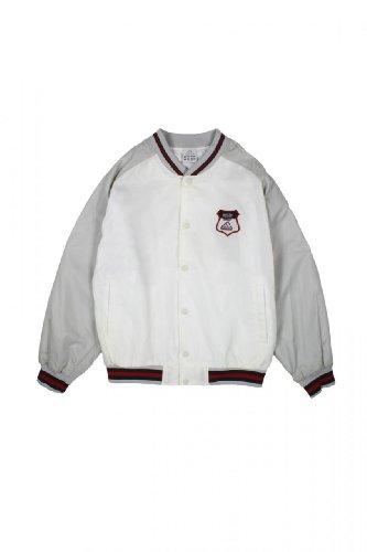 Adidas Kinder Jacke Blouson-Jacke , Farbe: Weiss, Groesse: 164