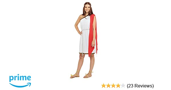 fec49f27ad3 Bristol Novelty AC388 Toga Ladies Costume, UK 10-14: Bristol Novelty ...