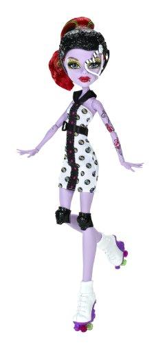 Mattel X3674 - Monster High Rollschuh-Clique Operetta, Puppe