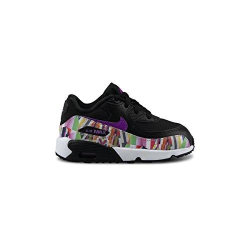 Nike Crianças Unissex 833499-001 Trilha Runnins Tênis Preto