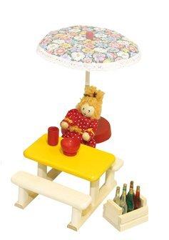 Rlke Holzspielzeug 22677 - Tavolo e panche Filius