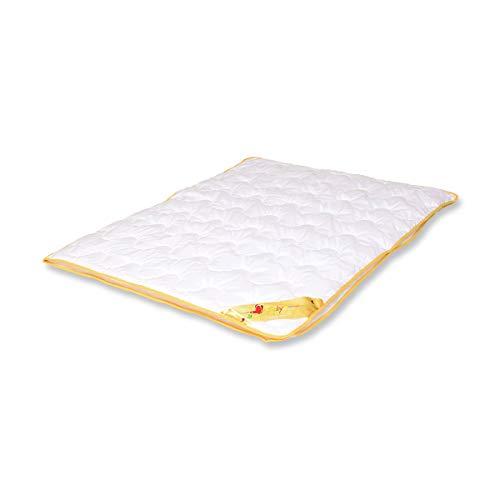 Traumschloss Baby 4-JHZ Kinder Bettdecke Weiß 100 x 135 cm