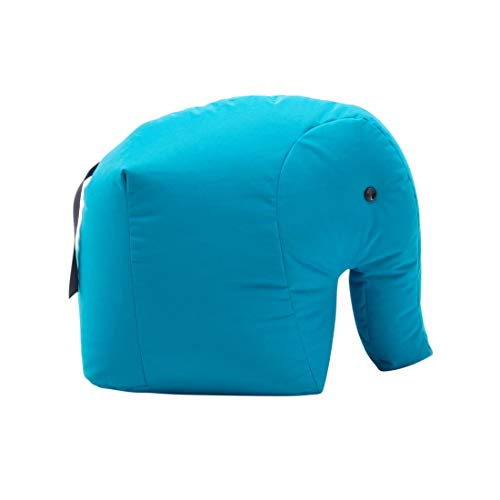 Sitting Bull 190168 Happy Zoo Carl Elefant Sitzsack, blau 100{158e621e31477a1e933223e36075c22e158c2bb059f3390289ab4876ab9e2930} Polyester beschichtet LxBxH 71x53x47cm
