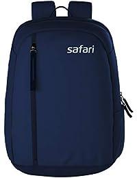 Safari Navy Blue Casual Backpack (UNO19CBNAV)