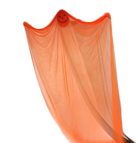 XINXIN Halloween Orange Horror Tüll Mit Transparenten Und -