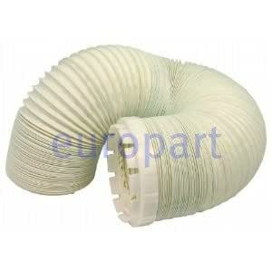 SUDS-ONLINE Hotpoint / Creda 4 Inch Diameter . 2.0 Metre Length Replacement Tumble Dryer Hose and Vent Adaptor Brand change to:SUDS-ONLINE