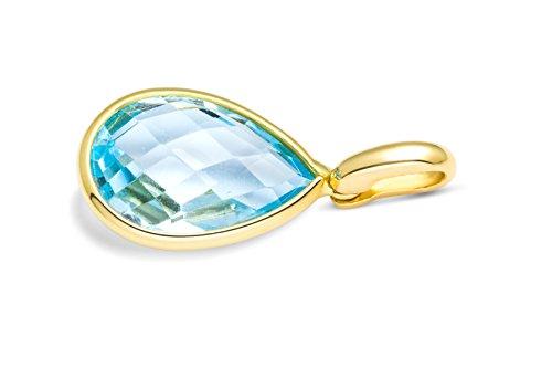 Miore Collier Femme  750/1000 (18 Cts) Améthyste Bleu