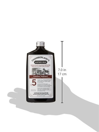 Chamberlain's Leather Milk - Furniture Treatment No. 5 - Acondicionador y Limpiador...