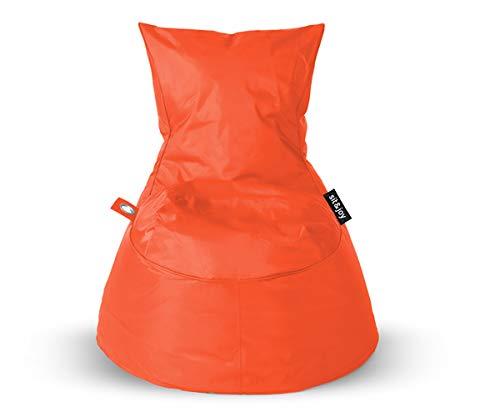 Sit Joy Basic Square Zitzak.Sit Joy Zitzak Dolce Orange
