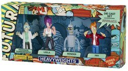 Rocket USA - Futurama série 4 figurines métal 8 cm by Rocket USA, Figurines & gadgets