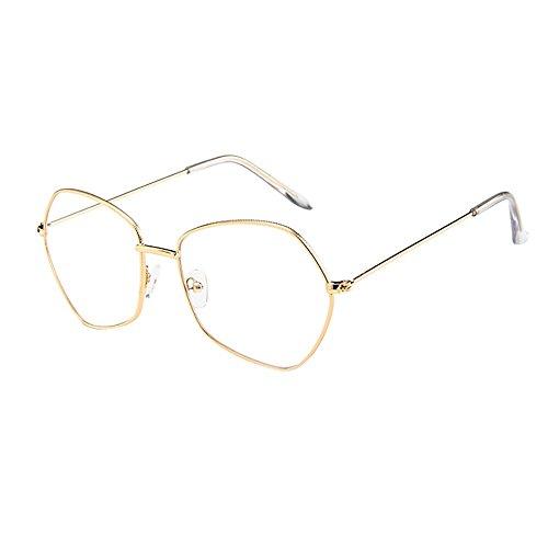 Battnot☀ Sonnenbrille für Damen Herren, Unisex Unregelmäßige Vintage Mode Shades Anti-UV Gläser Sonnenbrillen Schutzbrillen Männer Frauen Retro Billig Cat Eye Sunglasses Fashion Women Eyewear