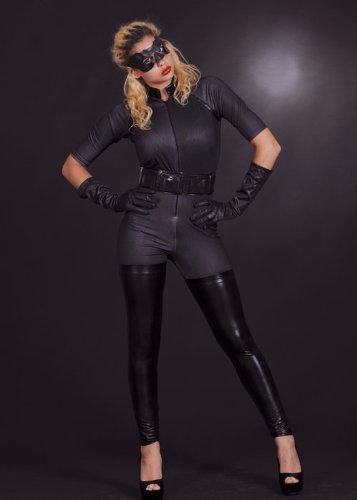 8in1 Erwachsene Frauen Catwoman Kostüm M (UK (Catwoman Kostüm Kostüme Uk)