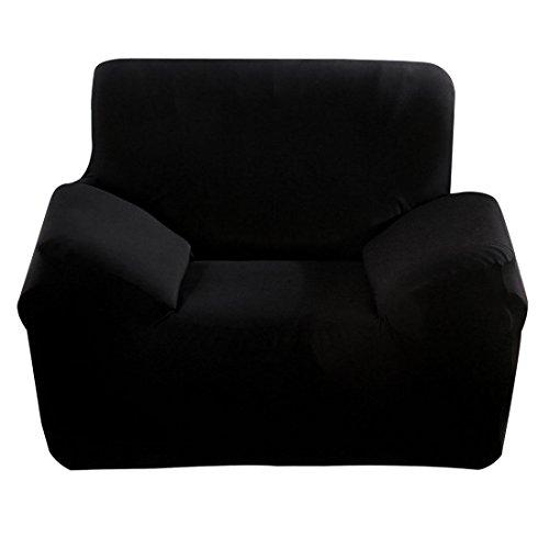 Preisvergleich Produktbild Sourcingmap Home Furniture Sofa Stuhl Stretch Cover Protector 88, 9-139, 7cm schwarz
