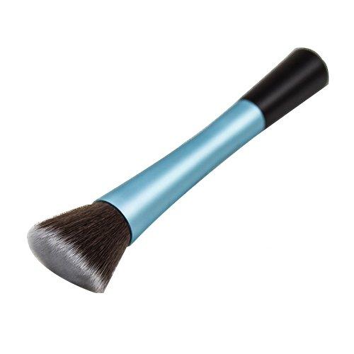 Blush Poudre Cosmétique Pointillé Pinceau Fond De Teint Outil De Maquillage Bleu Modèle1049