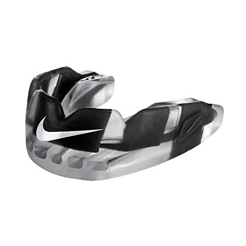 Nike Hyperflow Mundschutz mit Strap, Senior schwarz