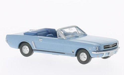 ford-t5-mustang-descapotable-azul-claro-met-modelo-de-auto-modello-completo-wiking-187