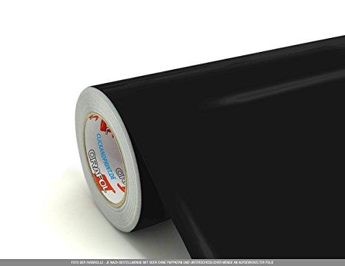 CLICKANDPRINT  3m Klebefolie, 50cm breit, Schwarz PR » Oracal 751 Premium Cast - Premium-cast