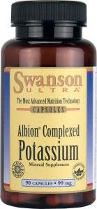 Swanson Ultra Albion Complexed Potassium (99mg, 90 Capsules) from Swanson Health Products