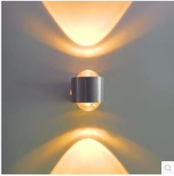 2w aluminium moderne led wandleuchte 85 265v up down. Black Bedroom Furniture Sets. Home Design Ideas