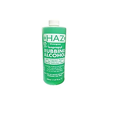 Haz 500 ml Isopropyl Rubbing Alcohol First Aid Anti Septic : everything five pounds (or less!)