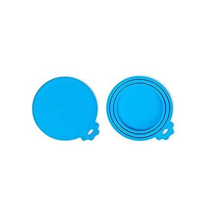 ISKM Dosendeckel 2er-Set Futterdosen Deckel Tierfutter Lebensmittelechtes Silikon BPA Frei & FDA-Zulassung 3in1 Passform…
