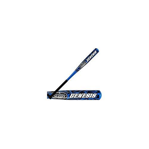 Louisville Genesis Aluminum Youth Baseball Bat - Black/Blue - 32-22
